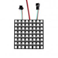 WS2812B Digitale 5050 RGB LED - Matrix 8x8 - Flexible