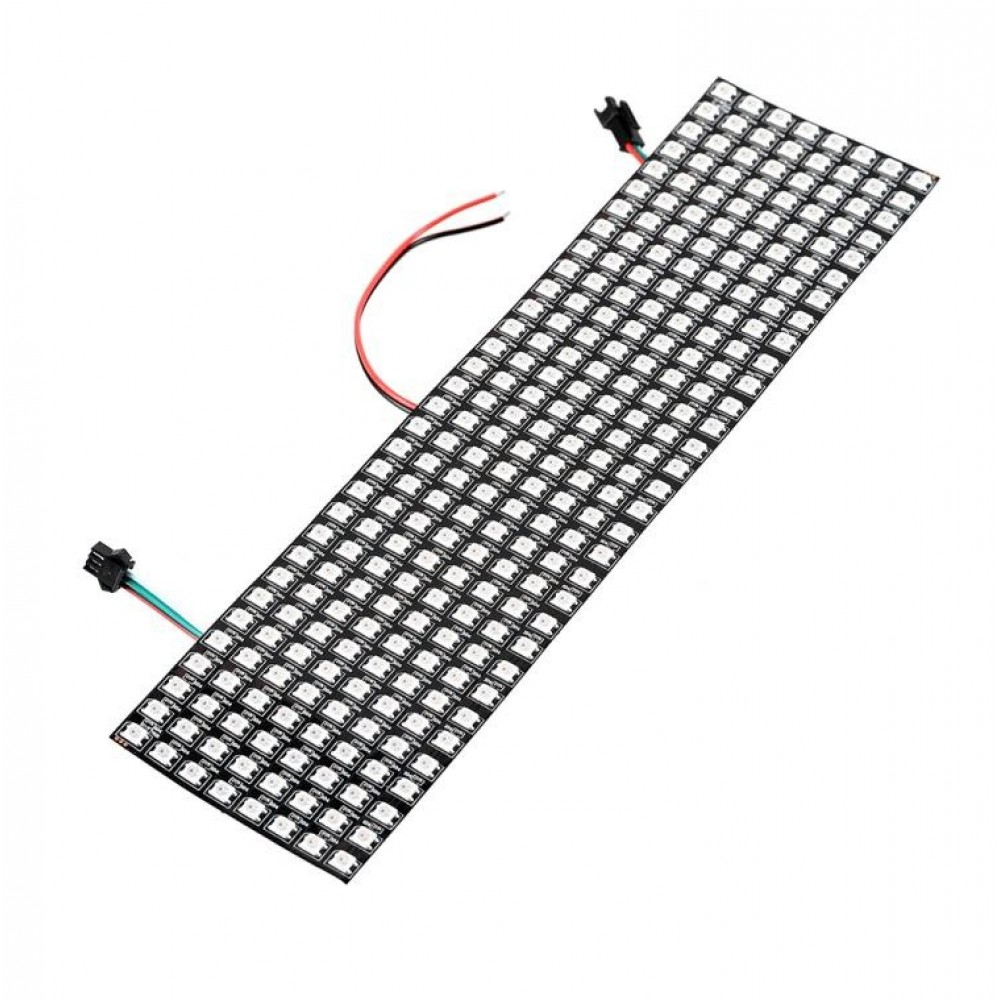 WS2812B Digitale 5050 RGB LED - Matrix 32x8 - Flexibel