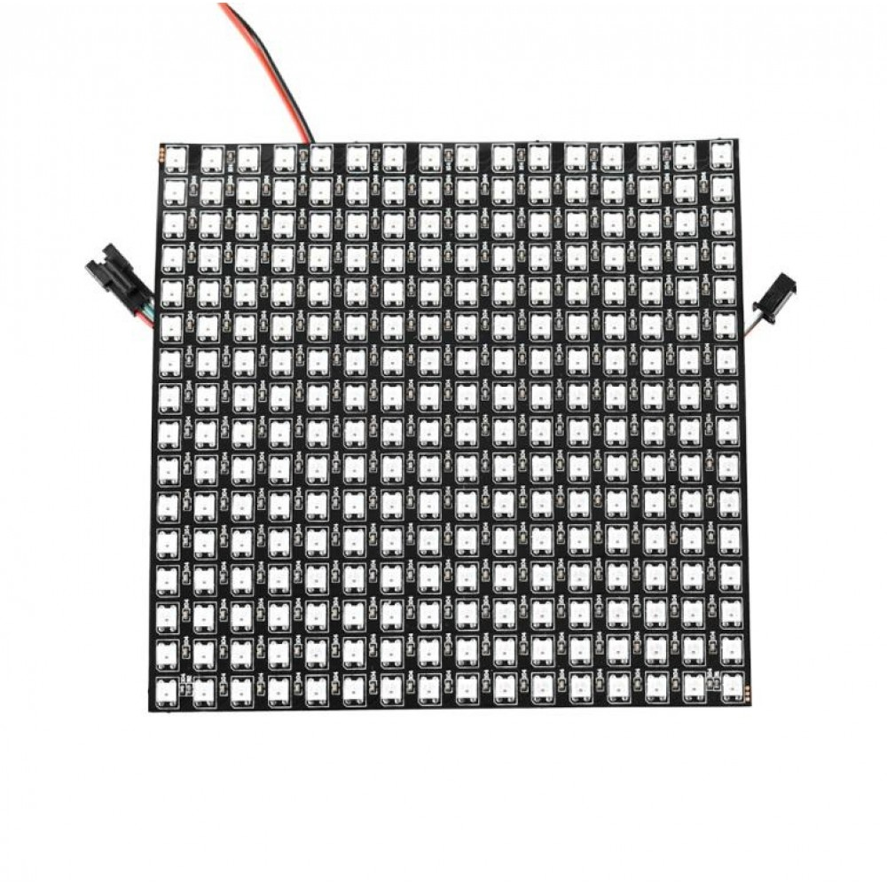 WS2812B Digitale 5050 RGB LED - Matrix 16x16 - Flexibel