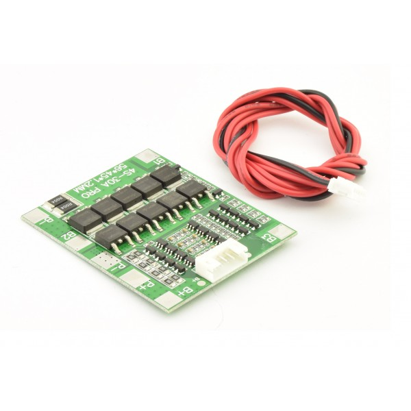 Li-ion/Li-Po Protection circuit (BMS) - 4S - with Balancing
