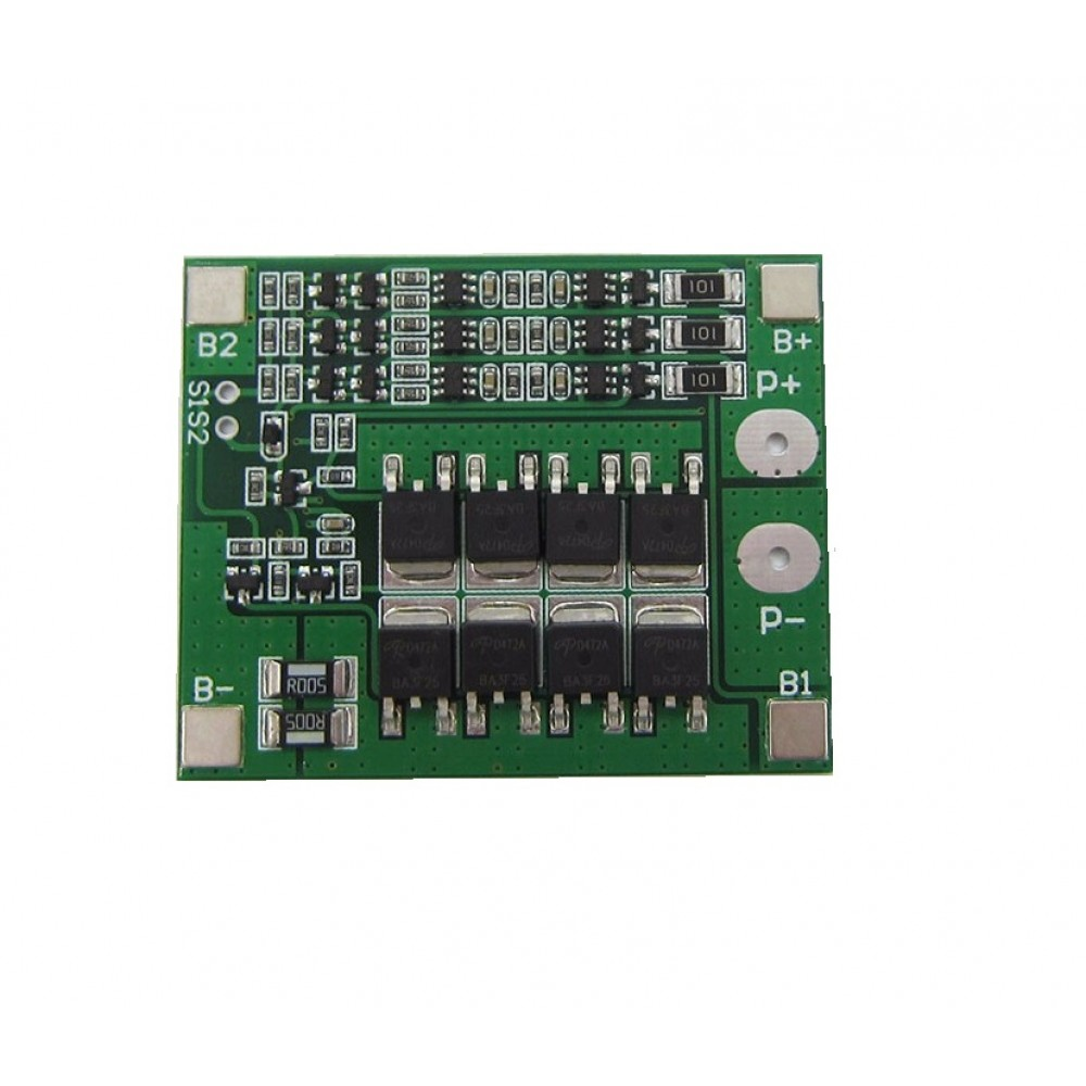 Li-ion/Li-Po Protection circuit (BMS) - 3S
