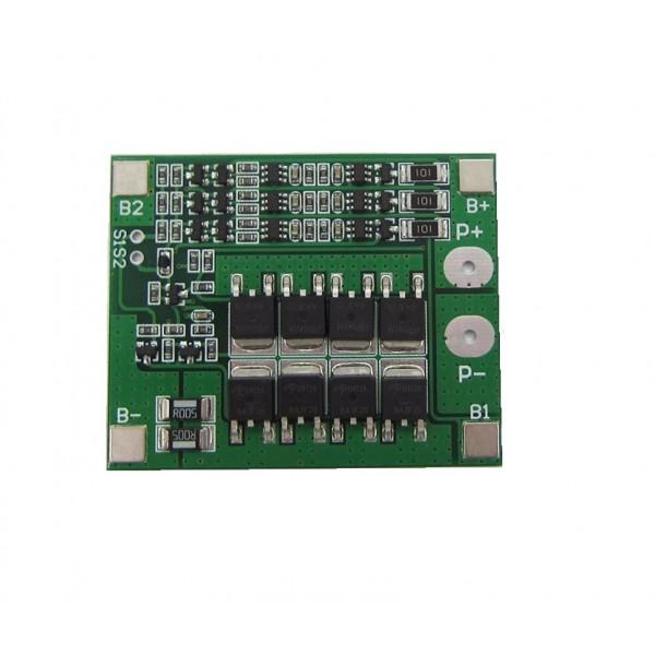 Li-ion/Li-Po Protection circuit (BMS) - 3S - with Balancing