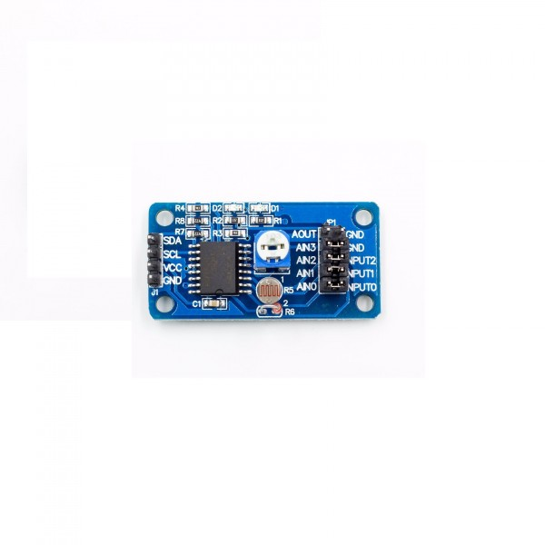 PCF8591 AD-DA Converter Module with Built-in Sensors