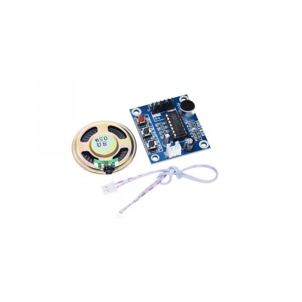 Stem Opname Module met Speaker - ISD1820