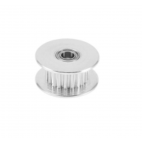 GT2-16 Pulley - 16 Tanden - 3mm as - Met Rollager