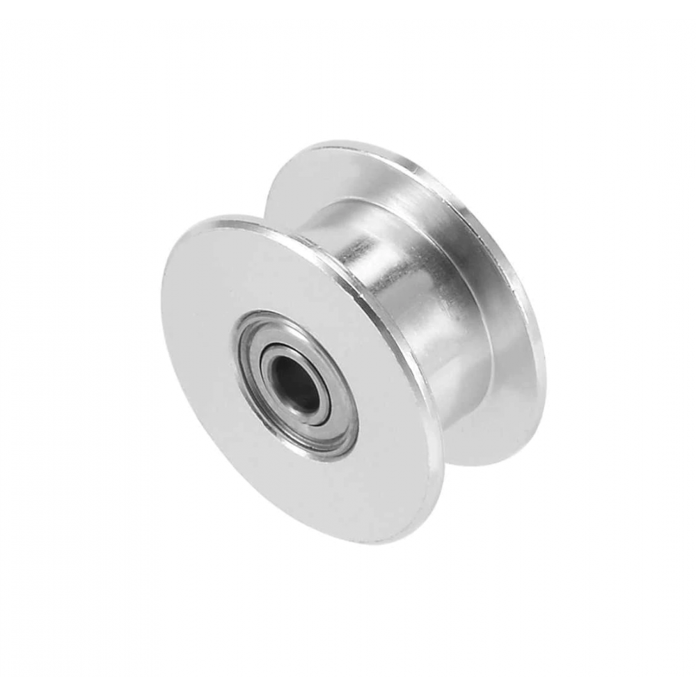 GT2-16 Pulley - Tandloos - 3mm as - Met Rollager
