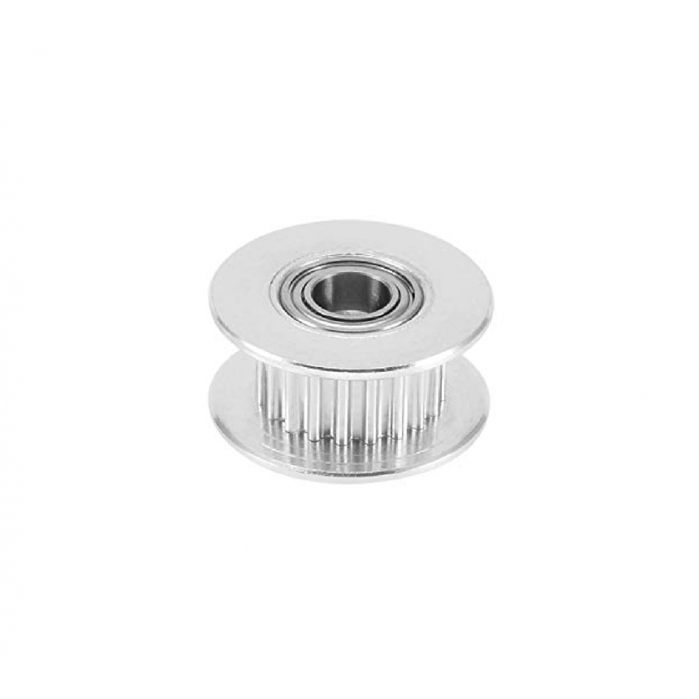GT2-20 Pulley - 20 Tanden - 3mm as - Met Rollager