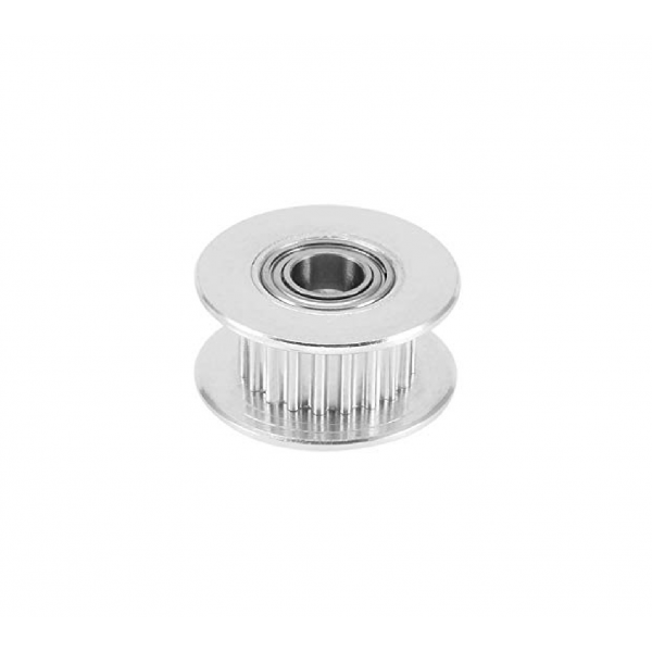 GT2-20 Pulley - 20 Tanden - 5mm as - Met Rollager