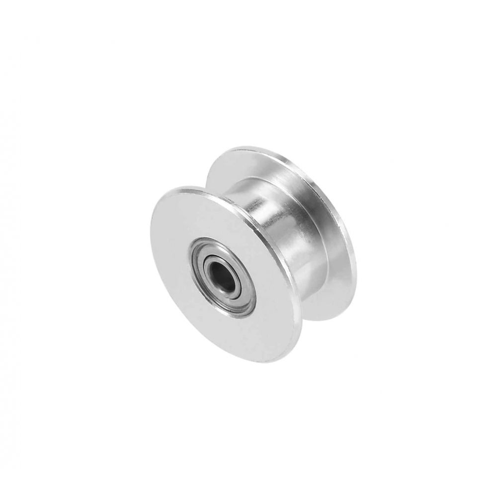 GT2-20 Pulley - Tandloos - 5mm as - Met Rollager