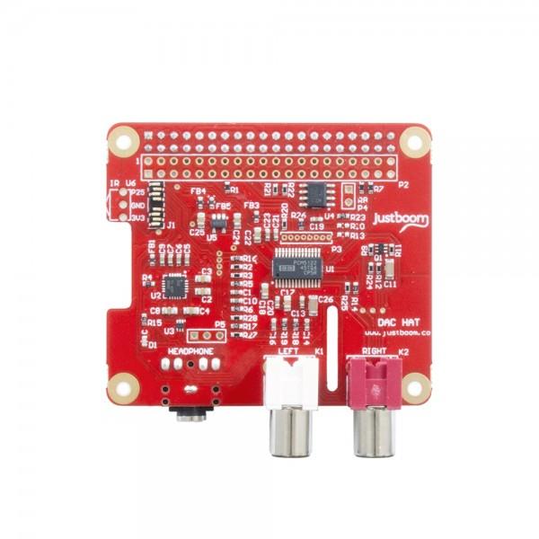 JustBoom DAC HAT voor Raspberry Pi