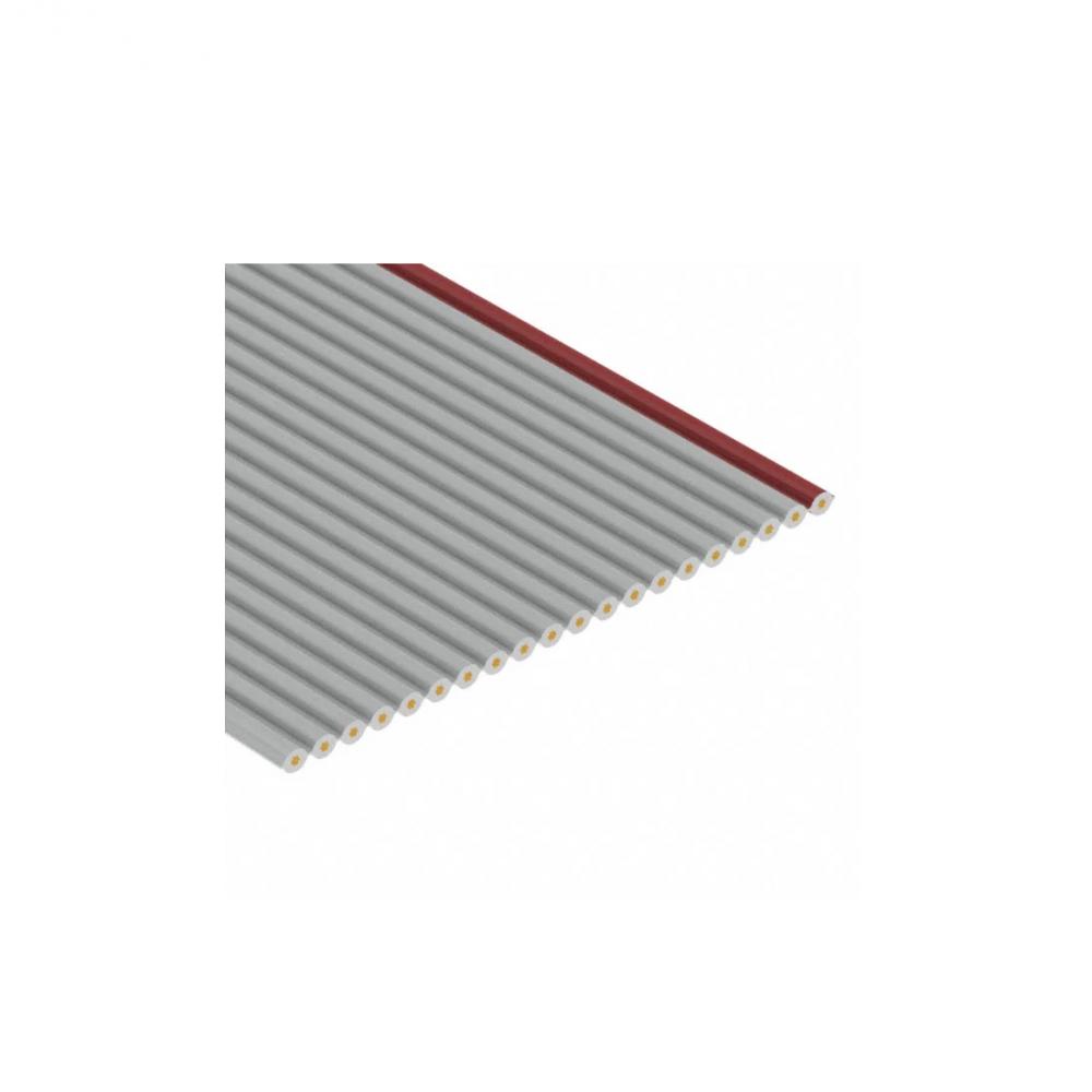 Flatcable - Grijs - 0.5m - 1.27mm - 20 pins
