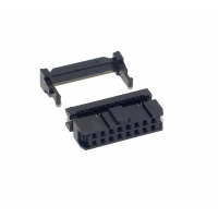 Female Header Flatcable Connector 16P - 2x8P