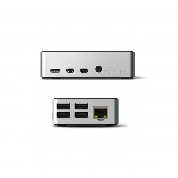 Flirc - Raspberry Pi 4 Behuizing- Aluminium-Zwart