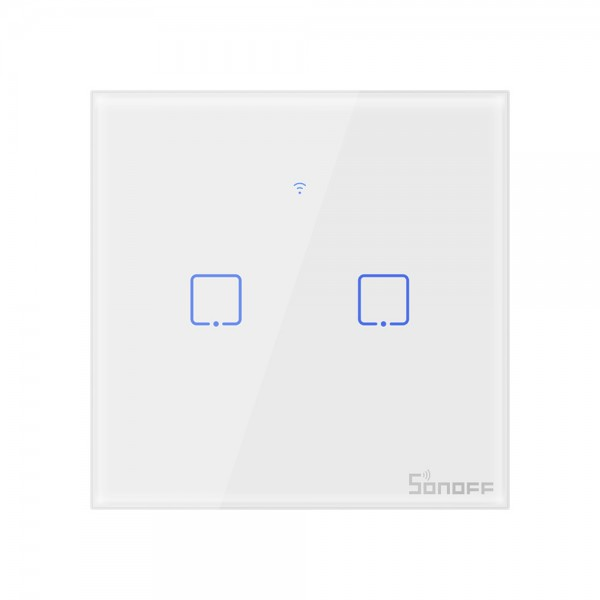 Sonoff T2 EU - 2 Switches - WiFi and 433Mhz RF