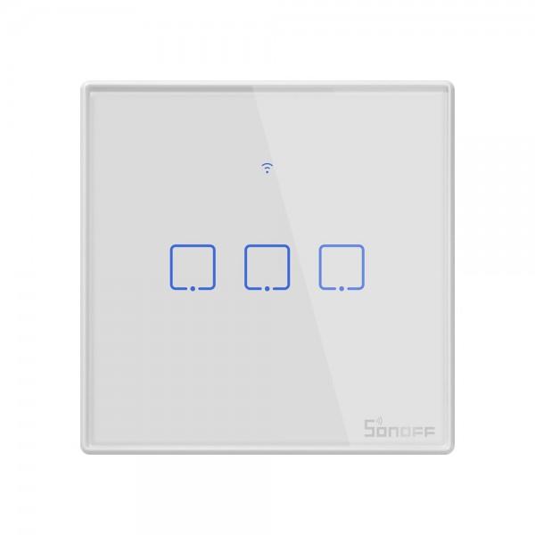 Sonoff T2 EU - 3 Switch - WiFi and 433Mhz RF