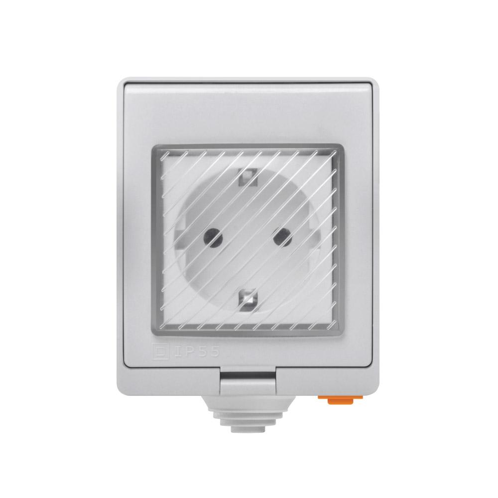 Sonoff S55 - IP55 Waterdichte WiFi Stopcontact - EU Type F