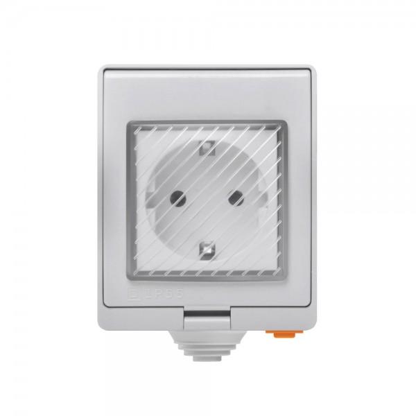 Sonoff S55 - IP55 Waterproof WiFi Outlet - EU Type F