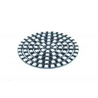SK6812 Digital 5050 RGB LED Ring - 93 LEDs - Black