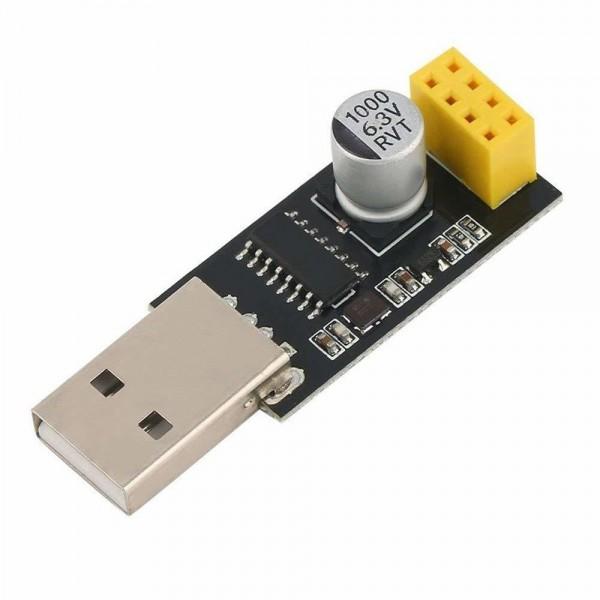 CH340 3.3V TTL USB Serial Port Adapter - voor ESP-01