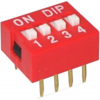 DIP Switch - 4 Positions