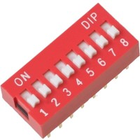 DIP Switch - 8 Positions
