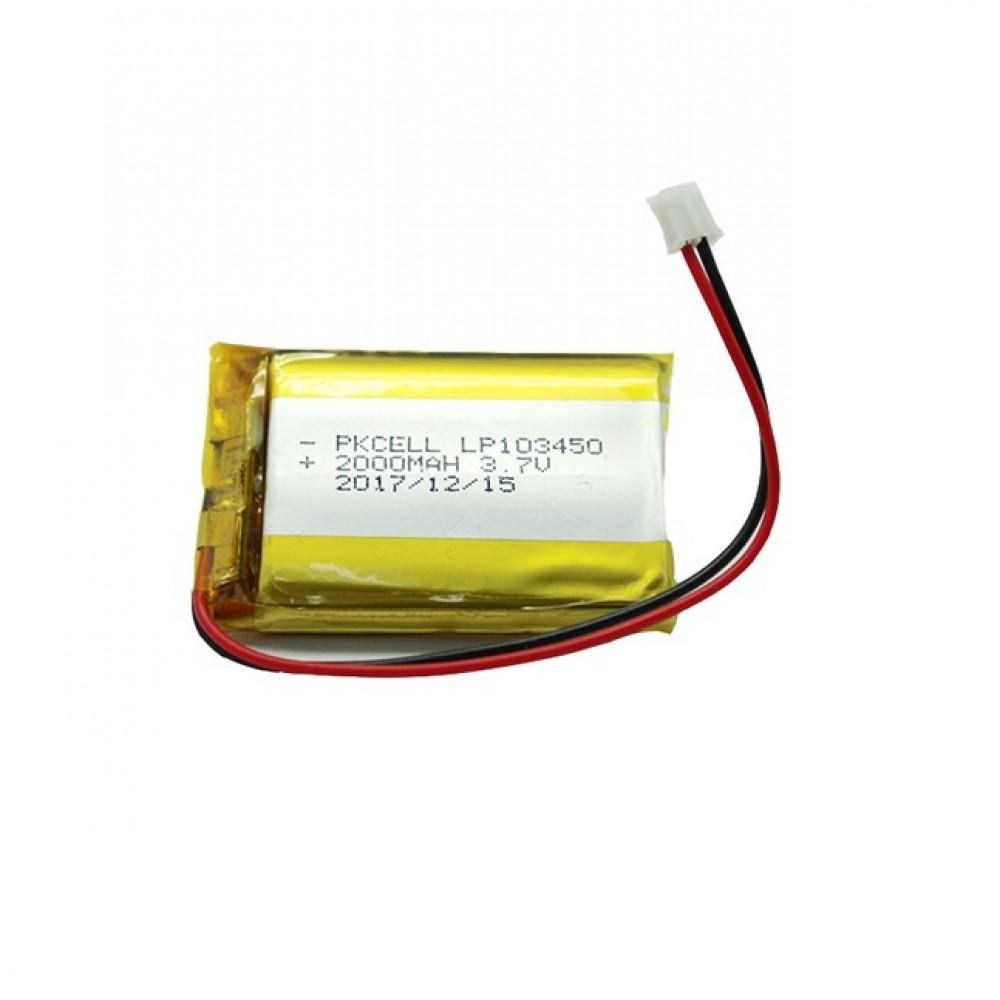 Li-Po Battery 3.7V 2000mAh - JST-PH