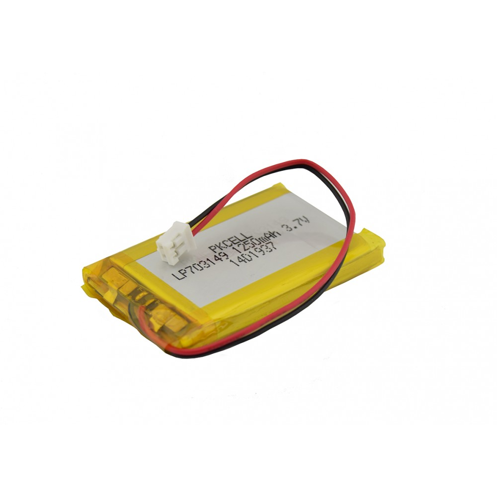 Li-Po Battery 3.7V 1250mAh - JST-PH