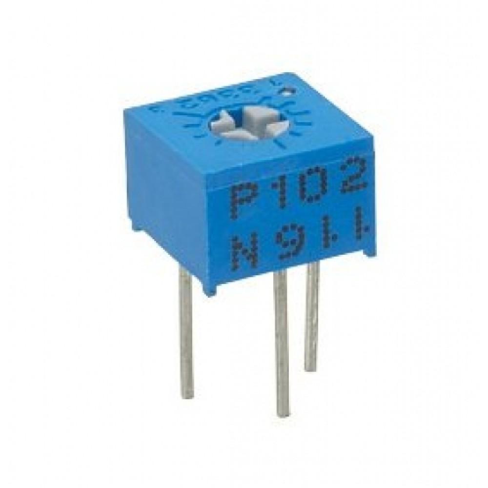 Cermet potmeter - type 3362 - Set 100R-1M