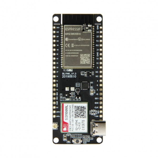 LilyGO TTGO T-Call ESP32 - with SIM800L - IP5306