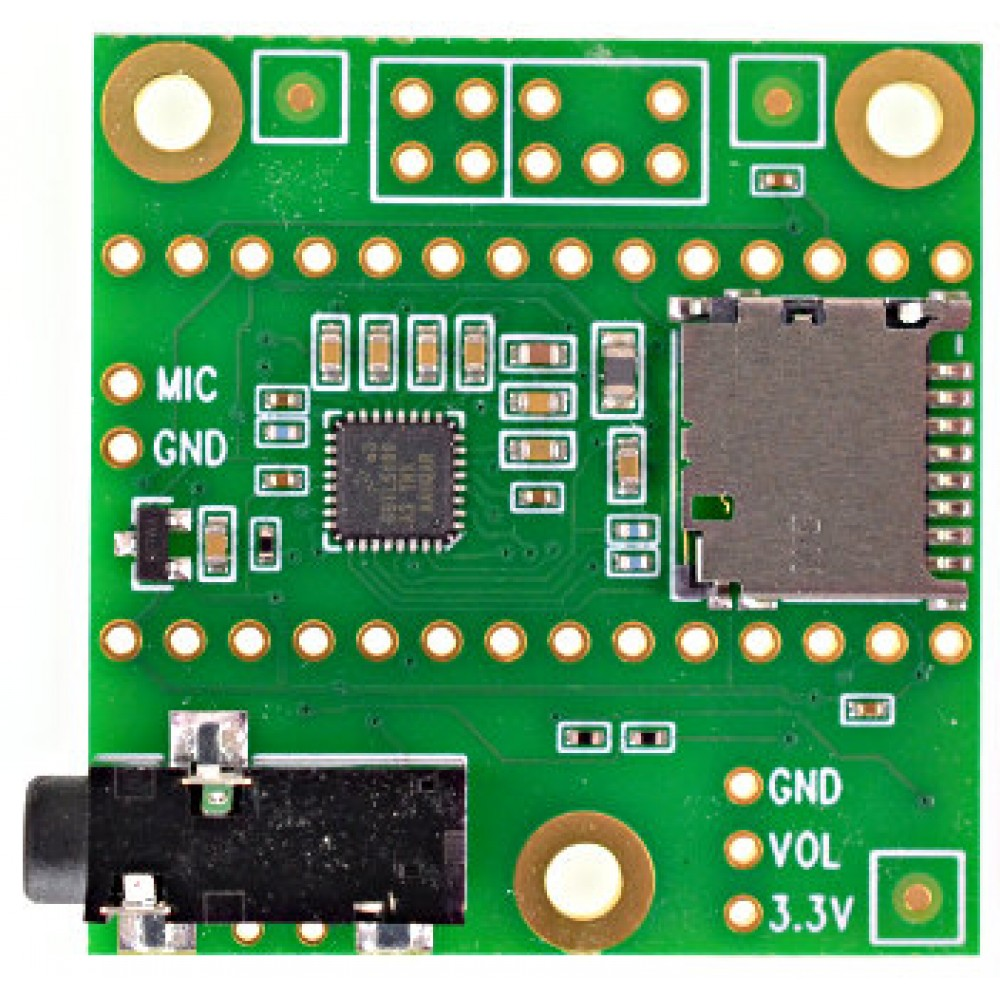 Teensy Audio Adaptor Board - Voor Teensy 4.0