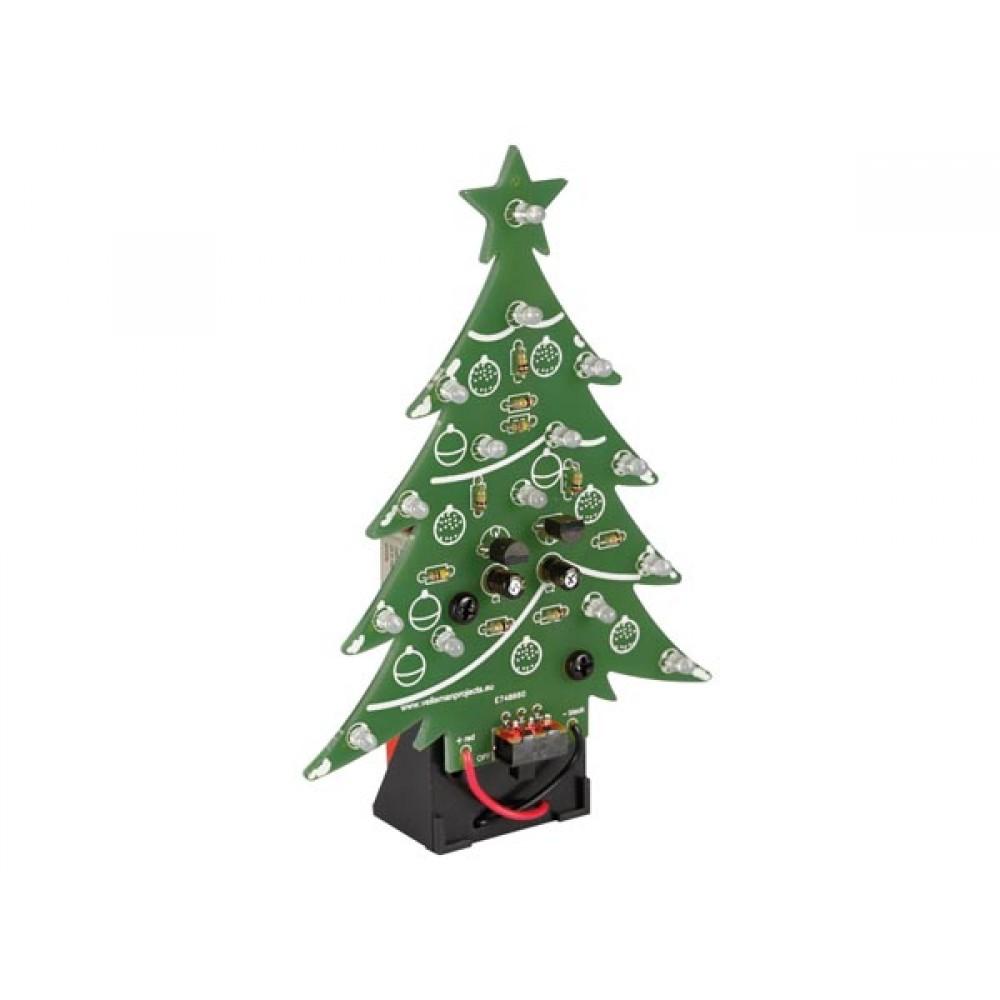 Kerstboom Soldeerkit met Batterijhouder