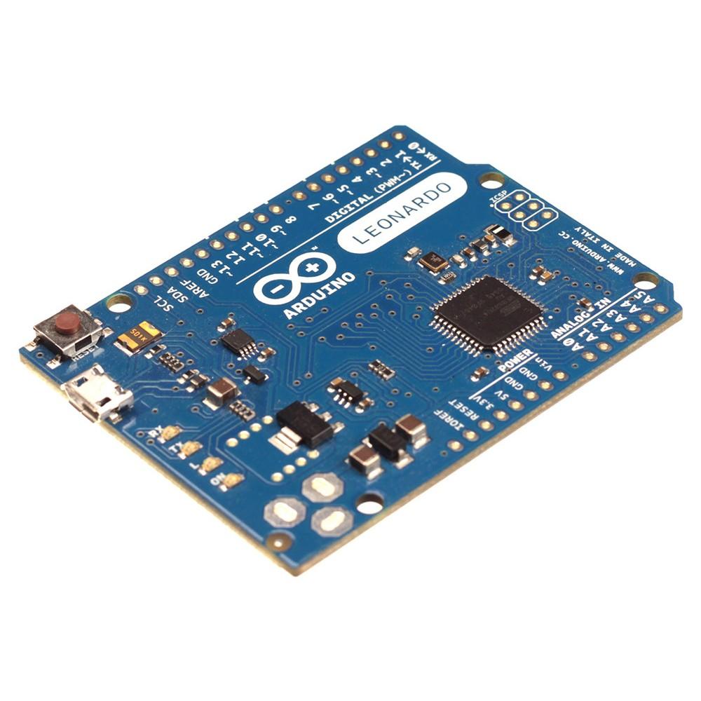 Arduino Leonardo - Zonder headers