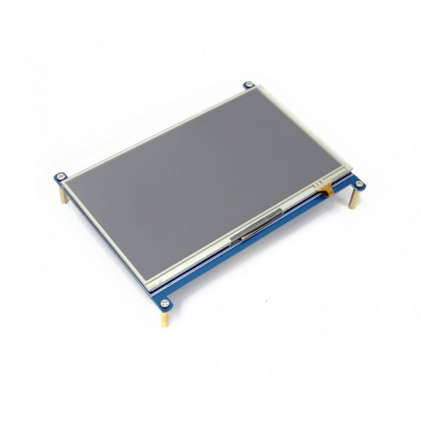 Waveshare 7 inch HDMI IPS-TFT-LCD Display 1024*600 pixels met Touchscreen - Raspberry Pi Compatible