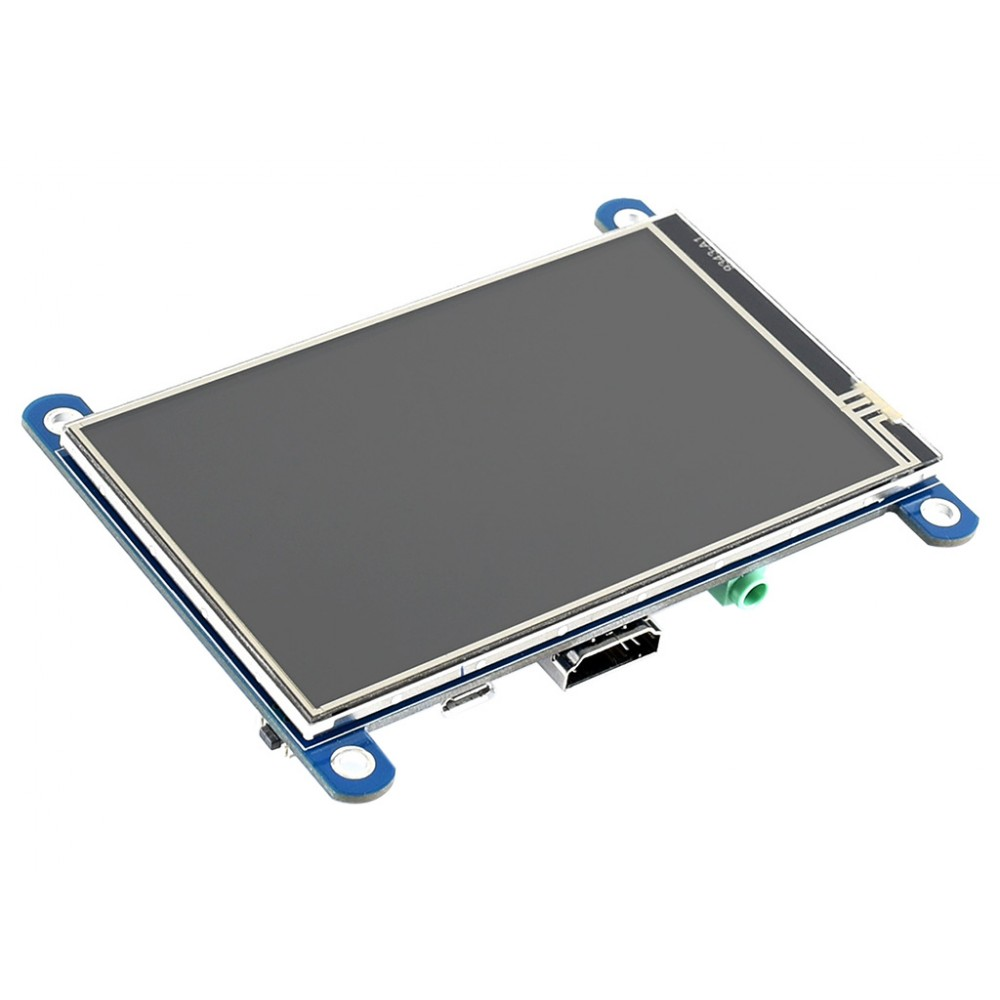 Waveshare 4 inch HDMI IPS-TFT-LCD (H) Display 800*480 pixels met Touchscreen - Raspberry Pi Compatible