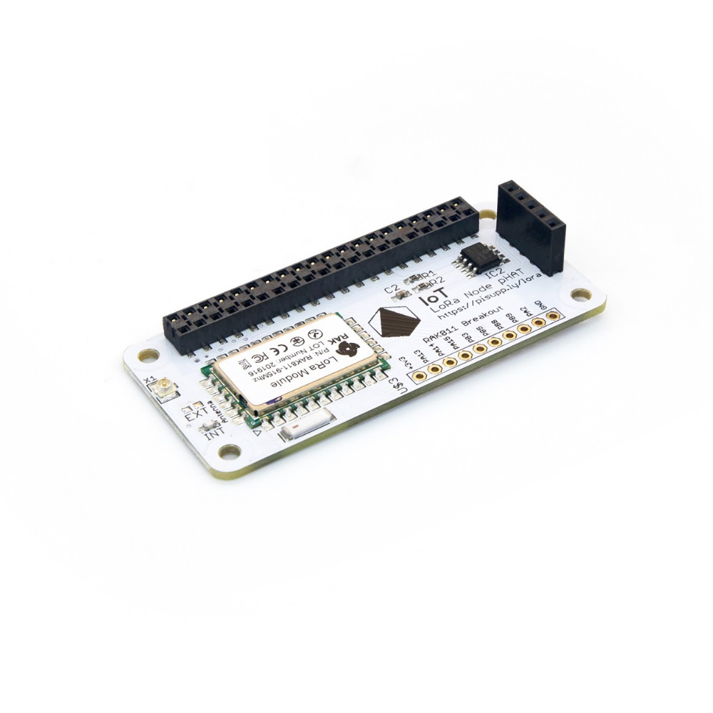 Pi Supply IoT LoRa Node pHAT voor Raspberry Pi - 868MHz-915MHz