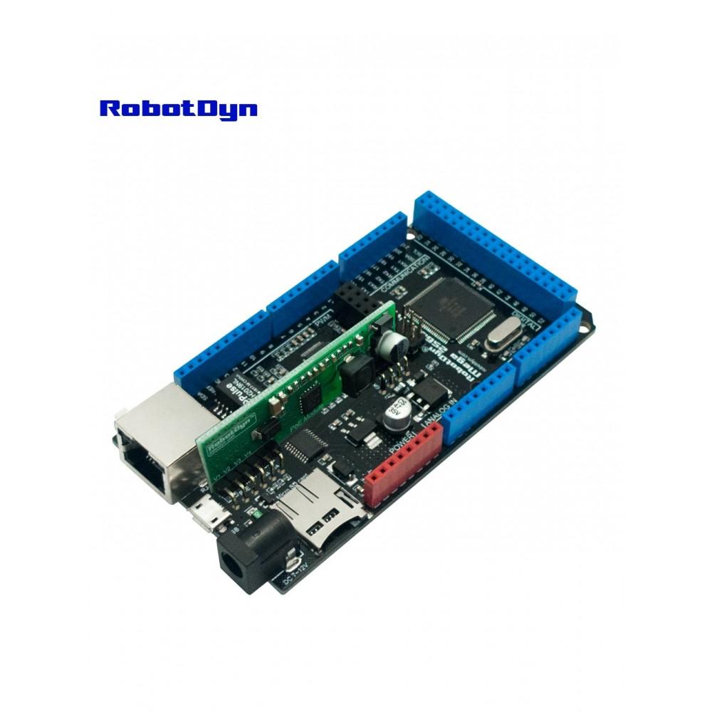 RobotDyn Mega 2560 ETH R3 met W5500 Ethernet - PoE