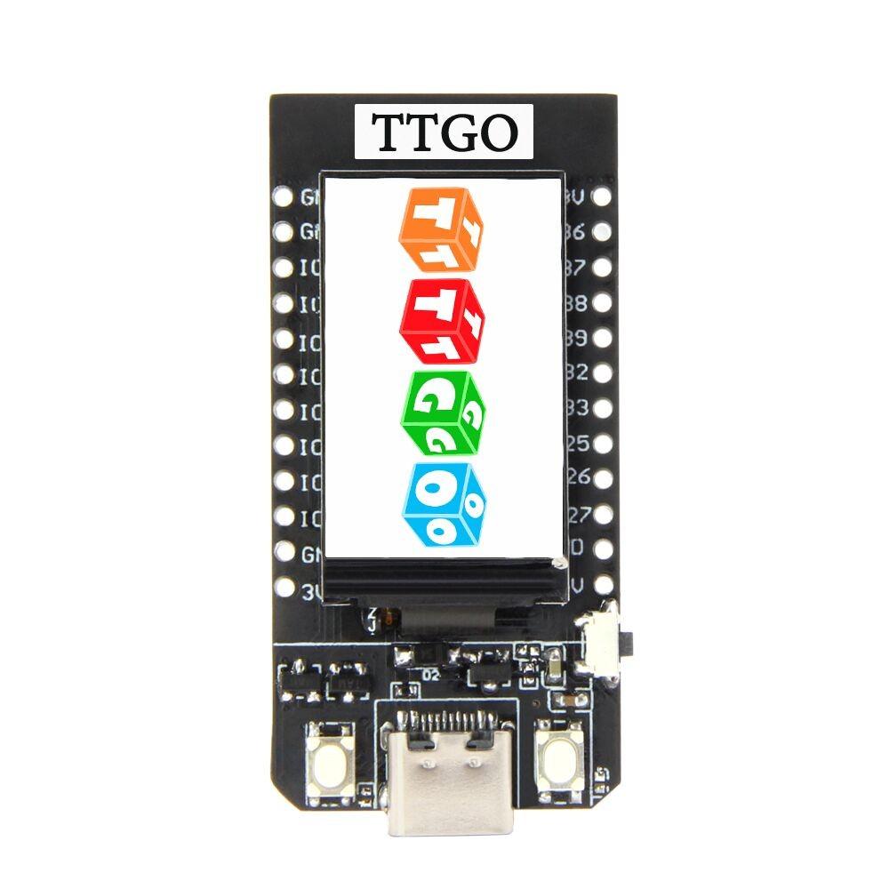 LilyGO TTGO T-Display V1.1 ESP32 - met 1.14 inch TFT Display