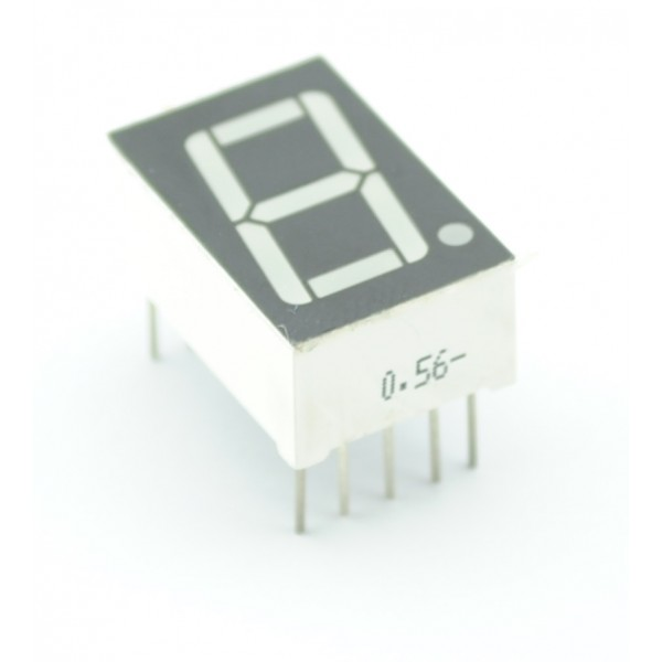 Segment Display - 1 Character - Red