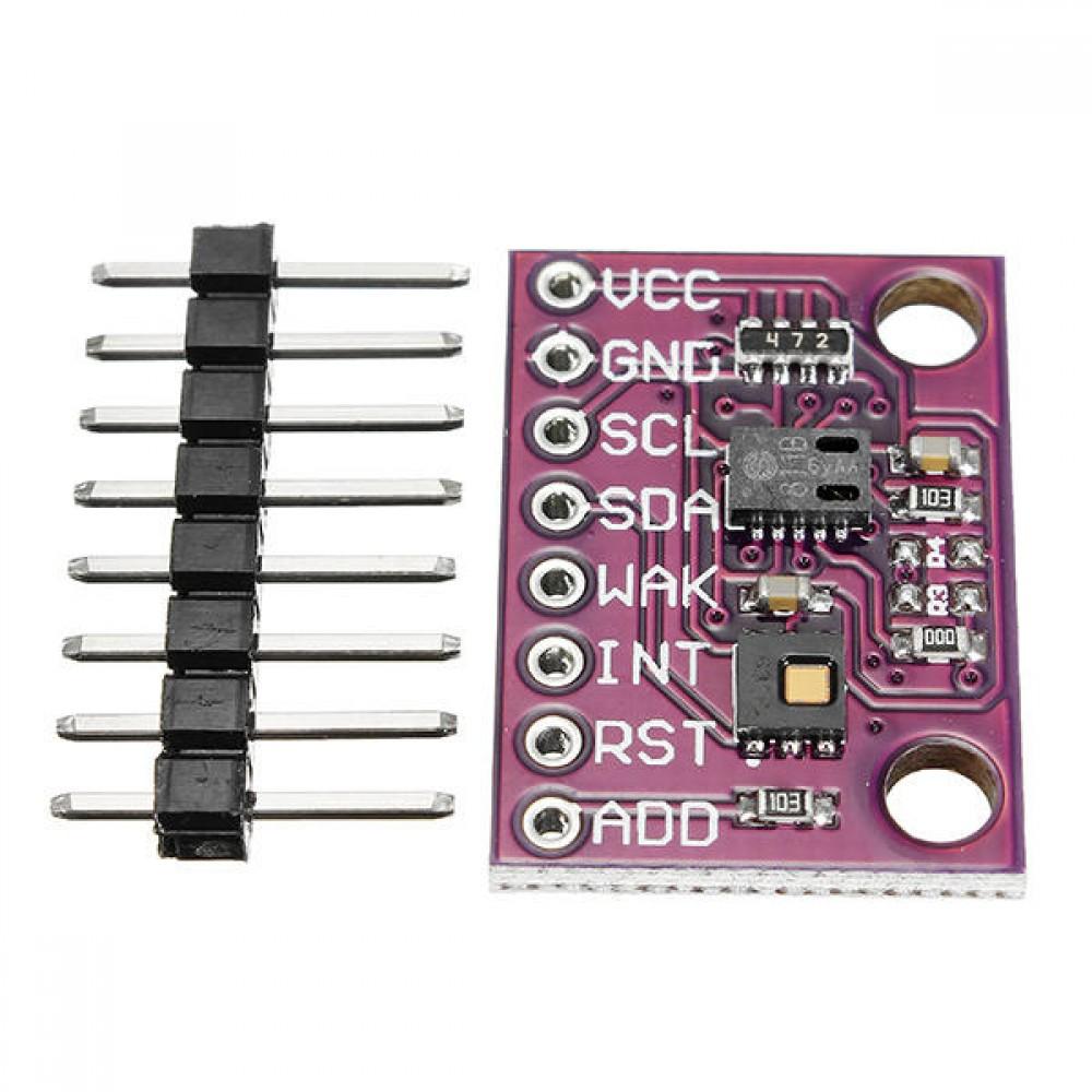 CCS811 en HDC1080 Luchtkwaliteit- Vochtigheid- en Temperatuursensor
