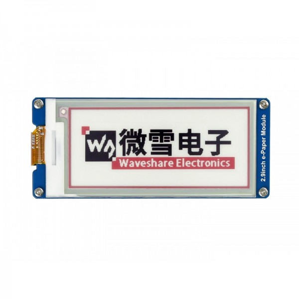 Waveshare 2.9 inch E-Ink E-Paper Display - 3 Colors
