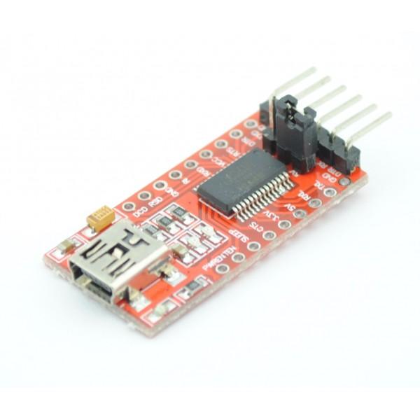 FT232RL 3.3v-5v TTL USB Serial Port Adapter
