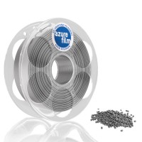AzureFilm PLA Filament 1.75mm - 1kg - Zilver