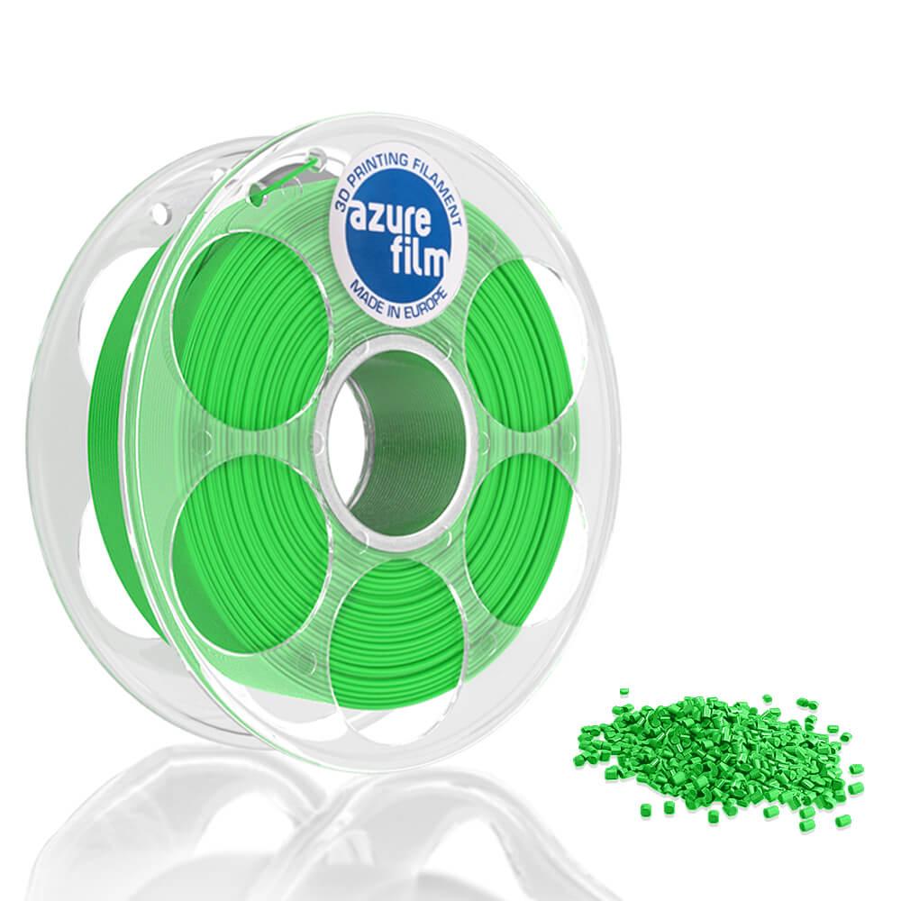 AzureFilm PLA Filament 1.75mm - 1kg - Licht Groen