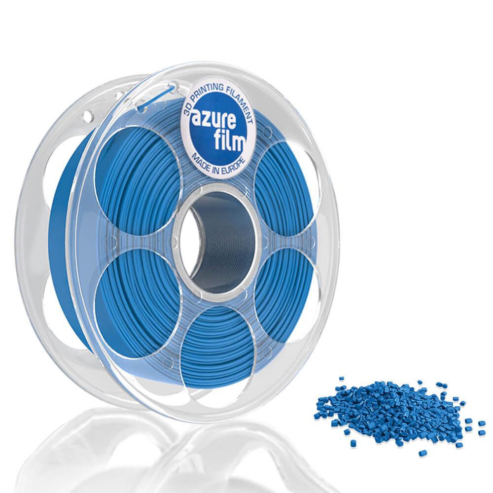 AzureFilm PLA Filament 1.75mm - 1kg - Blauw