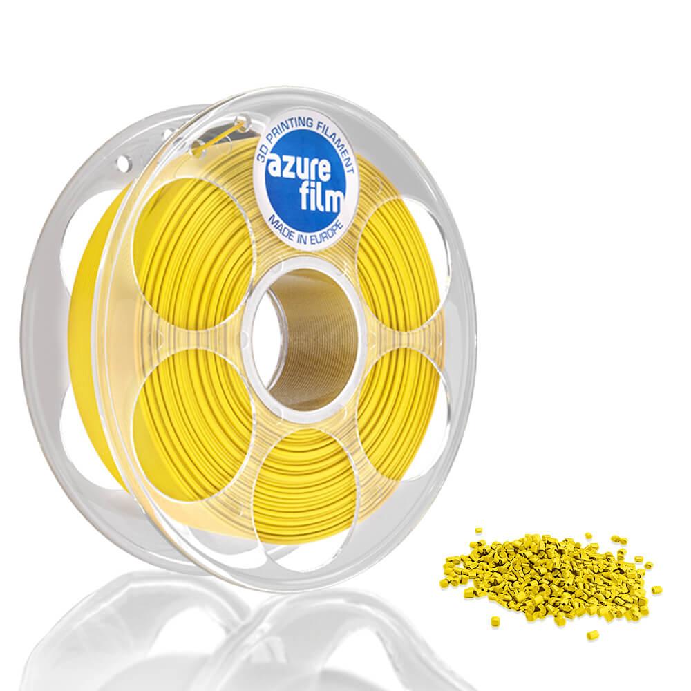 AzureFilm PLA Filament 1.75mm - 1kg - Geel