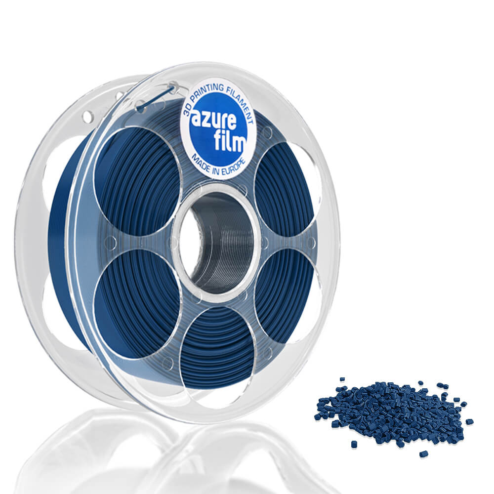 AzureFilm PLA Filament 1.75mm - 1kg - Parel Blauw