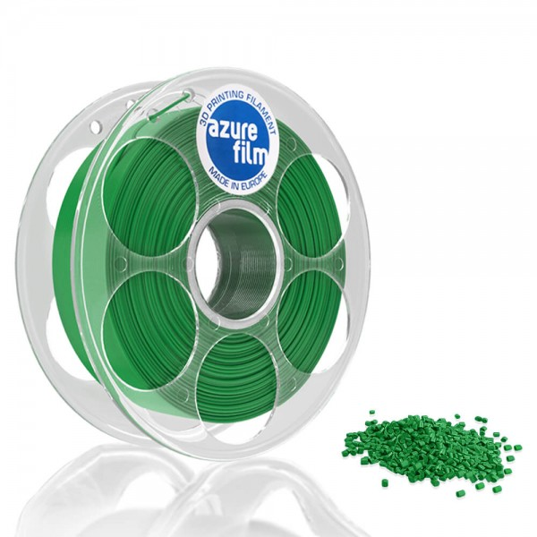 AzureFilm PLA Filament 1.75mm - 1kg - Pearl Green
