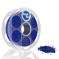 AzureFilm PLA Filament 1.75mm - 1kg - Blue Glitter