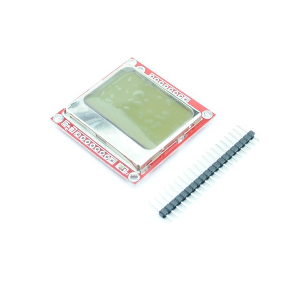 Nokia 5110 LCD Display - Red