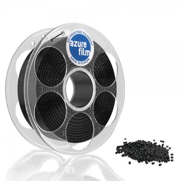 AzureFilm PLA Filament 1.75mm - 1kg - Black Glitter